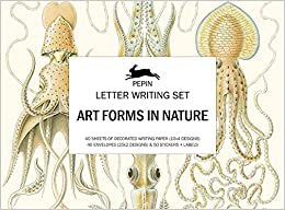 Art Forms In Nature: Letter Writing Set por Pepin Van Roojen