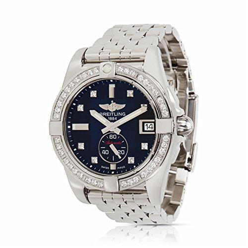 Breitling Galactic A3733053/BD02 Unisex Watch in Stainless Steel (Certified Pre-Owned)