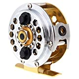 TOOGOO(R) Full Metal Fly Fish Reel Former Ice Fishing Vessel Wheel BF600A 0.50/100(mm/m) 1:1 For Sale