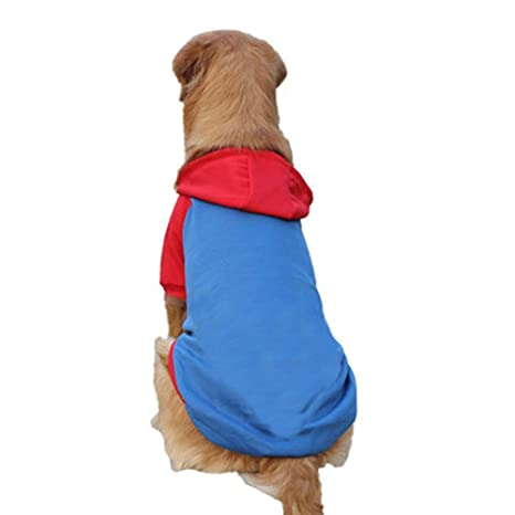 CERBERUS Ropa Para Perros Pet Sweater Perro Grande,Blue,4XL