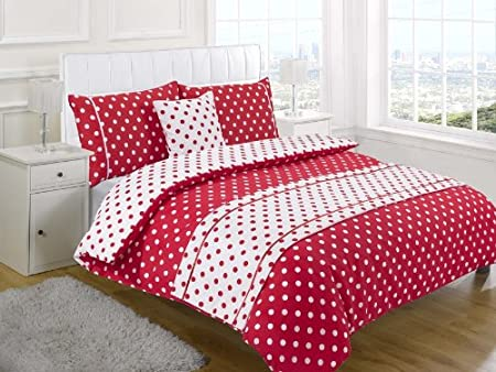 5 Piece Bedding Set King Size Double 5pc Bed in a Bag Duvet Cover Super King