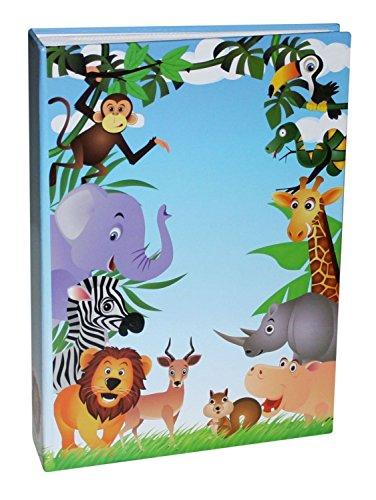 Idena 12026 - Einsteckalbum, FSC Mix, 25.5 x 18.5 x 5.5 cm, Dschungel