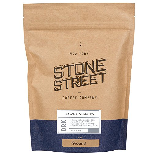 Breathing DARK SUMATRA 'Gayo Mountain' Fair Trade Coffee (FTO) | Ground | 1 Lb Bag | Single Origin | Premium Quality & Taste