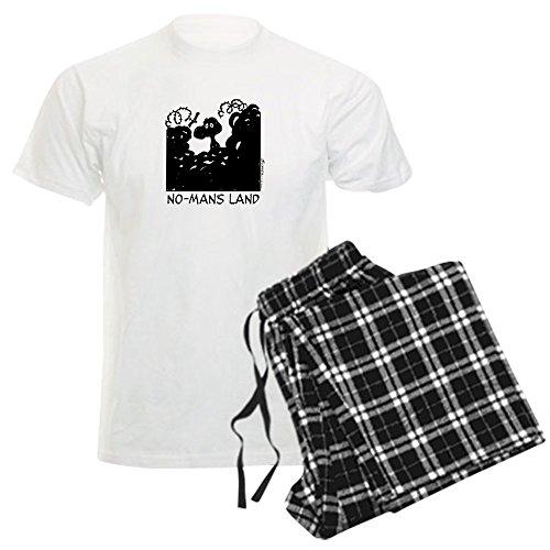 CafePress No-Man's Land - Unisex Novelty Cotton Pajama Set, Comfortable PJ Sleepwear
