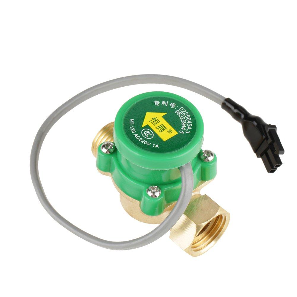 1 PZ HT-120 AC220V 0.5A G1//2-1//2 Filetto Pompa Acqua Interruttore Sensore di flusso per Doccia Scaldacqua