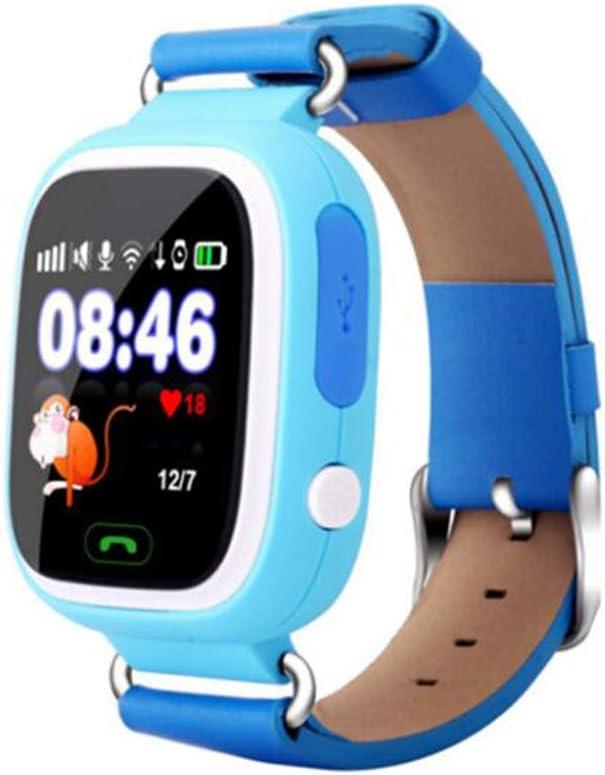GPS Kid Smart Watch Baby Reloj Anti-perdido con WiFi Pantalla táctil SOS Dispositivo de localización de Llamadas para niños Monitor Seguro