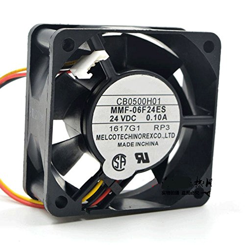 CA1638H01 DC 24V 0.1A 6025 6CM 606025mm 3 Wires MMF-06F24ES Low Power Inverter Cooling Fan by Z.N.Z (Image #2)