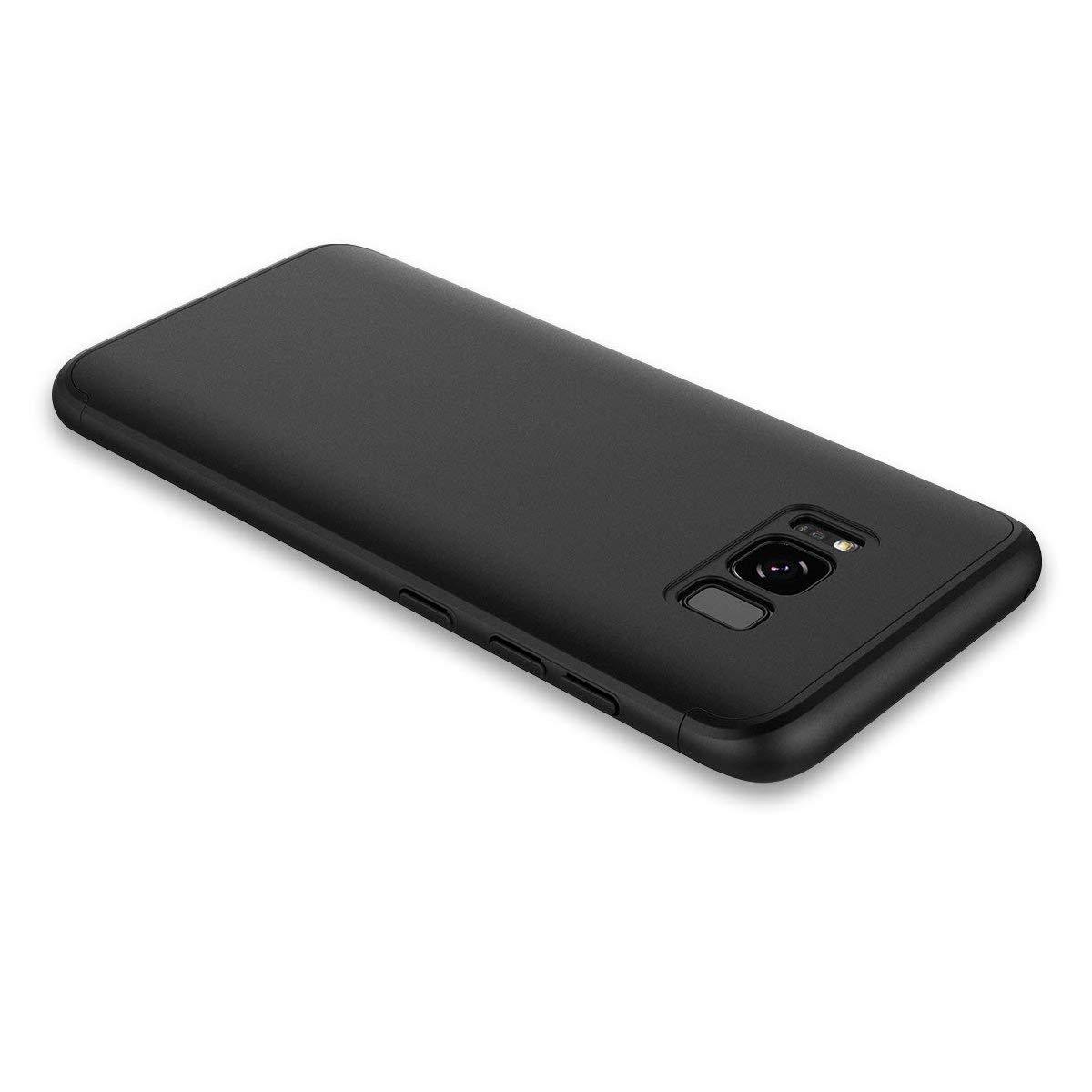 Hülle kompatibel Samsung Galaxy S8, Ultra Dünn PC Case 3-in-1 Hardcase Stoßfest Schutzhülle Anti-Fingerabdruck Cover Schale compatibel Samsung Galaxy S8 Plus
