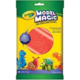 Crayola 113 gm Model Magic, Red, School and Craft Supplies, Gift for Boys and Girls, Kids, Ages 3,4, 5, 6 and Up, Holiday Toys, Stocking Stuffers, Arts and Crafts