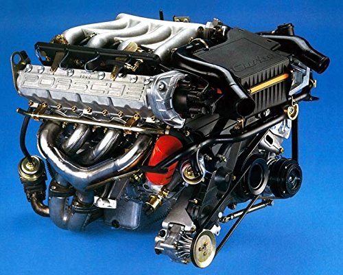 1985 Porsche 944 Turbo Engine Automobile Photo Poster
