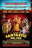 Fantastic Mr Fox Movie Poster 24in x36in