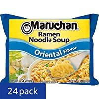 Deals on 24-Pack Maruchan Flavor Ramen Noodles, Oriental, 3 Ounce
