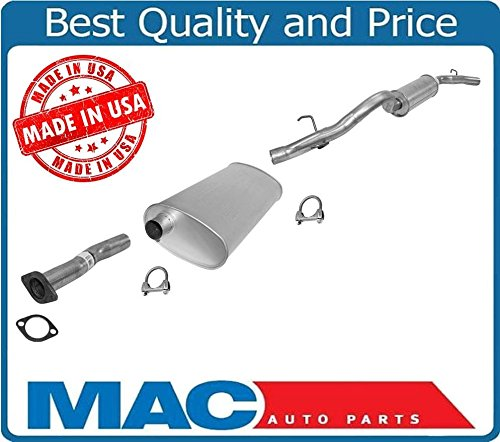 Mac Auto Parts 21722 05-07 All Wheel Drive Terraza Relay Exhaust System Muffler Tail Pipe NO SPORT