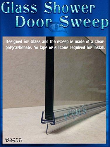 Amazon Ds9371 138 Glass Shower Door Sweep 36 Long To