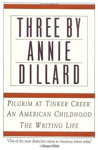 book cover of Three by Annie Dillard