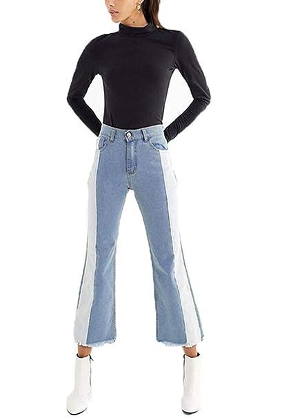 Pantalón 7/8 de primavera para Básicos mujer Pantalones ...