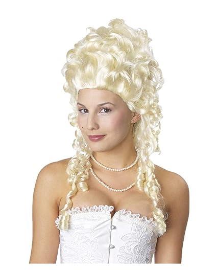 Maria Antonietta Biondi parrucca bianca  Amazon.it  Giochi e giocattoli 3c56f958a7a