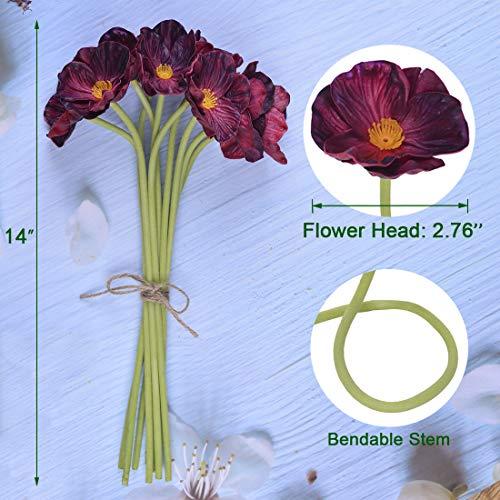 A-Cup-of-Tea-10Pcs-Modern-Dcor-Purple-Red-Poppy-Flowers-Artificial-Floral-Centerpieces-138-Garland-Fake-Silk-Flores-Artificiales-para-Decorativas-Faux-Plantas-Wedding-Decoration-Real-Touch-Wreath