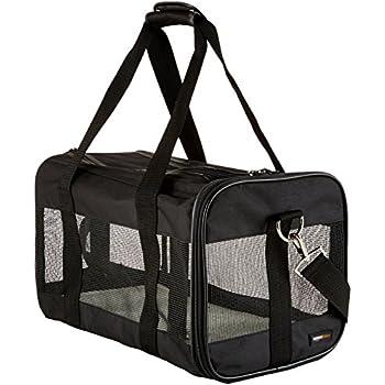 Sherpa delta pet carrier medium black soft for Trasportino per cani amazon