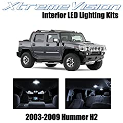 XtremeVision® Pure White Premium Interior LED Kit XtremeVision® LED Interior Package comes with everything you need to upgrade your stock interior lights to LED. Every kit is fully Plug-and-Play, allowing a quick and easy installation. Each k...
