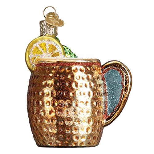 - Old World Christmas Glass Blown Ornament Moscow Mule Mug (32273)