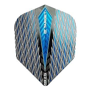 5 New Sets Pentathlon TDP Lux Vizion Standard Dart Flights Blue