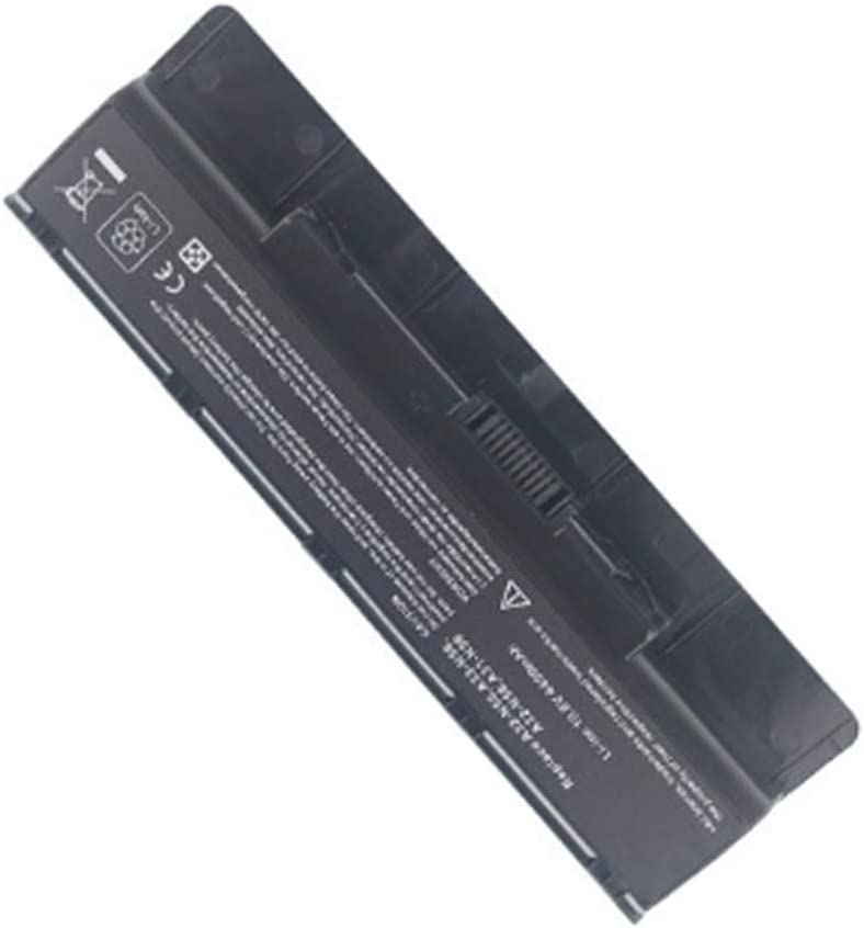 New Battery Compatible for Asus A32-N56 N46V N56VZ N76VM N56DY N56DP Battery Replacement 6 Cell 4400mAh