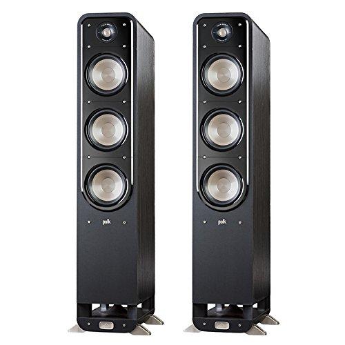 Polk Signature S60 American HiFi Home Theater Tower Speaker (Pair, Black) by Polk Audio