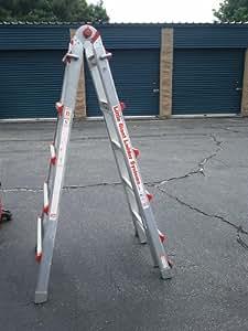 Little Giant M22 300 Lbs Aluminum Ladder Telescoping