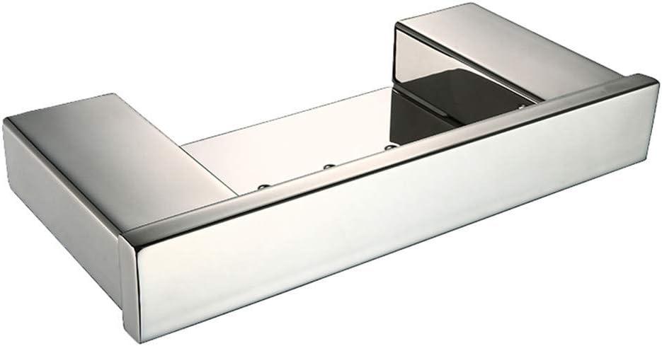 VHVCX Espejo Suave Cuadrados Macizos De Acero Inoxidable Sus 304 Jabón De Baño Del Plato Sostenedor Del Jabón Del Baño Moderno Establecimiento Del Plato