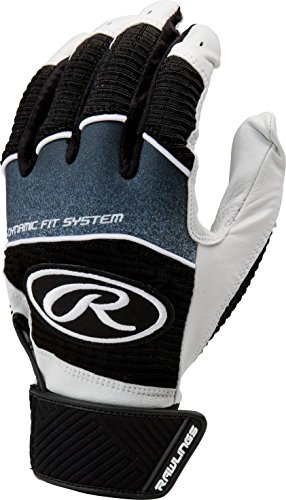Rawlings Workhorse 950 Series Adult Batting Gloves,Black,Large