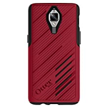 OtterBox Custom Cell Phone Case for OnePlus 3/3T - Retail Packaging - NIGHTFIRE (FLAME RED/BLACK)