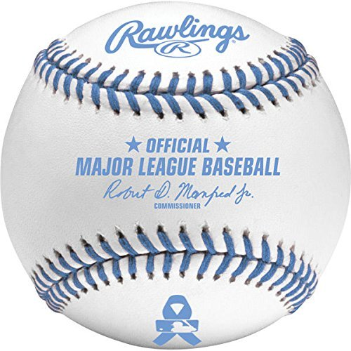 Rawlings Official Father's Day Blue MLB Major League Manfred Baseball - Boxed by Rawlings