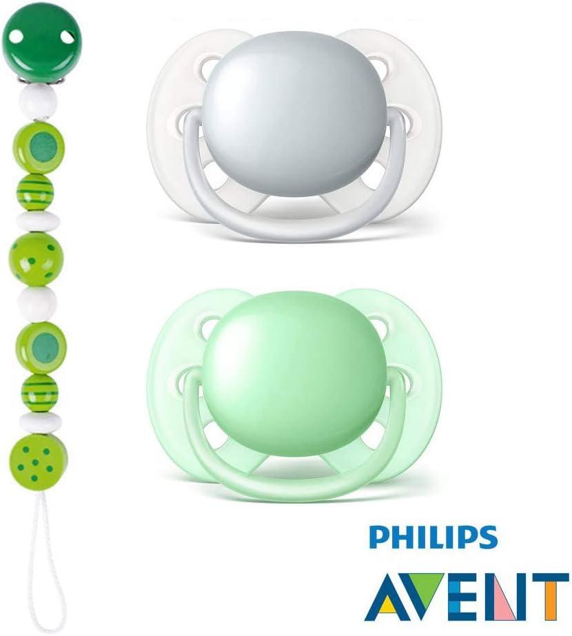 Philips AVENT Ultra Soft Chupete con ultraweichem Aspiradora placa ...