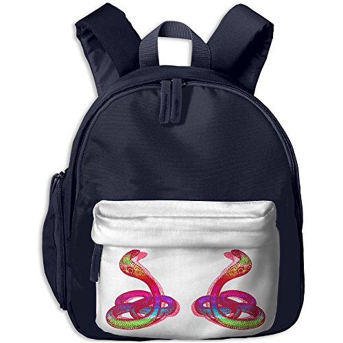 Com Costumes Sexy Wholesale (Schoolbag Shoulder Bag For Kindergarten Double Double Rainbow Cobra Snake Sister Class Gift New JOYLIAN)