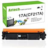 (with Chip) Aztech 1 Pack Replaces for HP 17A CF217A Toner Cartridge Compatible with HP M102w Toner HP Laserjet M102w M102, HP MFP M130fw M130nw HP Laserjet Pro MFP M130fw M130nw M130fn M130 Toner