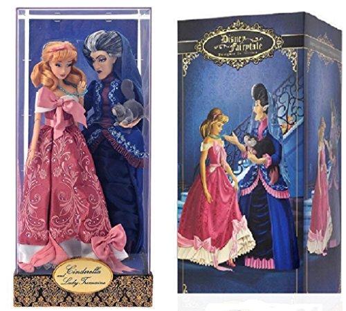 Disney - FAIRYTALE DESIGNER LE 6000 CINDERELLA & LADY TREMAINE DOLL SET 2016 (Evil Fairy Tale Characters)