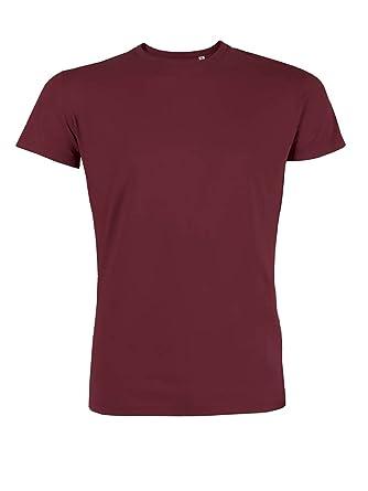 YTWOO Herren Rundhals Tshirt Aus Bio-Baumwolle- in Diversen Farben Schwarz  und Weiß bis