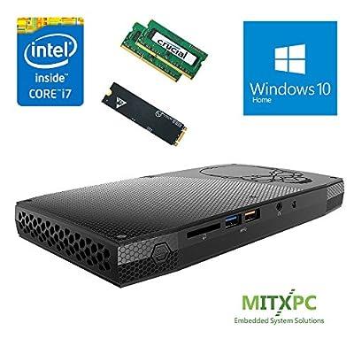 Intel BOXNUC6i7KYK 6th Gen Core i7-6770HQ SkullCanyon NUC w/ 32GB DDR4, 1TB SSD, Windows 10 Home - Configured and Assembled by MITXPC