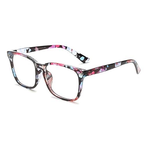 Zhhlinyuan Universal Flat Radiation-Protective Eyeglasses Frame Glasses Unisex GY-8082