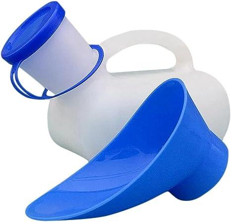 SinceY toillette d/'Urgence Urinoir Toliet pour Hommes et Femmes urinoir Portable pour Toilettes Mobiles de Voiture Bouteille Pipi pour bassins de lit urinoir Unisexe pour Voiture