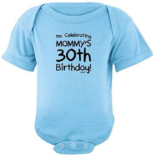 Baby Gifts For All I'm Celebrating Mommy's 30th Birthday Bodysuit