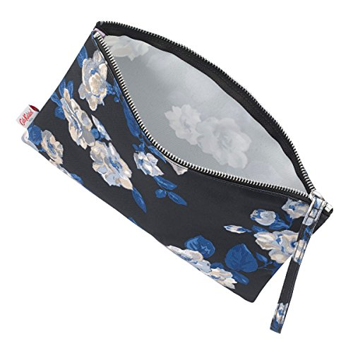 Crescent with ' Cath Large Strap Navy Pouch Rose' Wrist Kidston qp0fWO