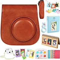 For Fujifilm Instax Mini 9/8/8+ Instant Camera Accessories, Case/2 Mini Album/Selfie Lens/6 Colors Filters/Neck Strap/Hang Frames/Table Frames/Stickers. By SAIKA