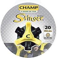 Champ Scorpion Stinger Small Thread Spikes 20Ct