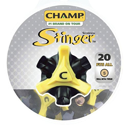 (Champ Golf- Stinger Spikes (Disc Pack))