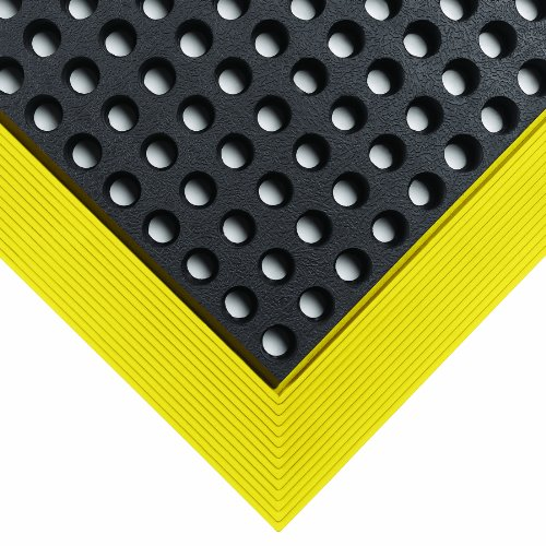 Wearwell Rubber 479 Industrial WorkSafe Heavy Duty Anti-Fatigue Mat, for Wet Areas, 2