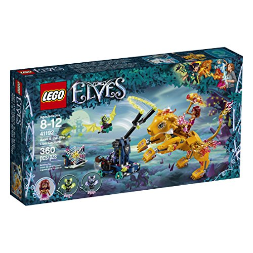 (LEGO Elves Azari & The Fire Lion Capture 41192 Building Kit (360 Pieces) )