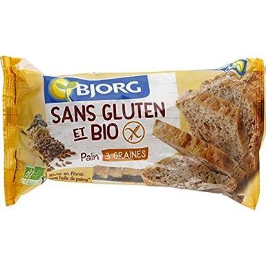 Bjorg - Pan De Molde Sin Gluten 3 Semillas 300G - Lot De 3 ...