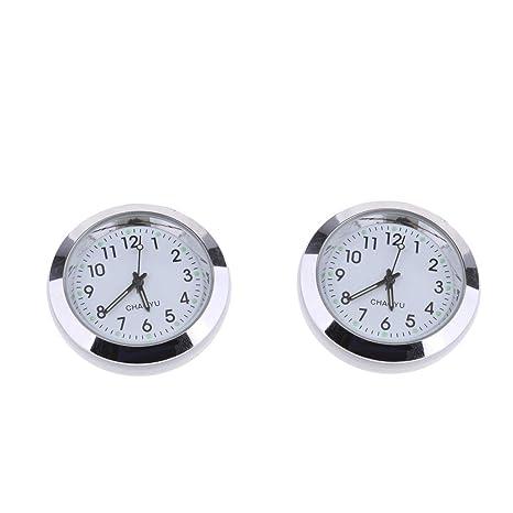 IPOTCH - Reloj Digital de Cuarzo para Coche, diseño de salpicadero